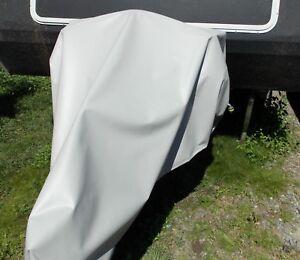 Caravan A frame full drawbar HITCH cover XLARGE PVC 680gsm STRONG GREY AUS MADE