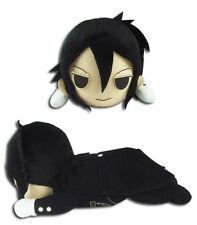 "*NEW* Black Butler: Sebastian Lying Posture 8"" Plush by GE Animation"