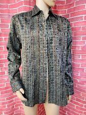 JHANE BARNES Classic fit Mens Multicolor Long Sleeve Buttons Shirt sz L #WM1