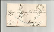 Prusia V/Aplerbeck 10/4.65, k2 en esplendor-tax. - carta n. ider