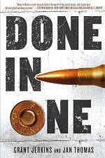 Done in One Hardcover Book Thriller Suspense Novel Dust Jacket by Grant Jerkins