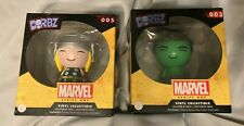 Funko Dorbz Thor #005 And Hulk#003 Marvel Vinyl Collectible New In Box Sealed