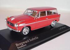 Minichamps 1/43 Borgward Isabella (1958) rot OVP #547