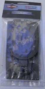 Ammo Pouch 9MM 2-Mag by TRU SPEC MOLLE 1000 Denier Nylon ACU ARMY DIGITAL