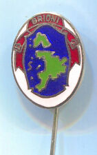 BRIONI National park - ISTRIA Pula Croatia, vintage pin badge, enamel