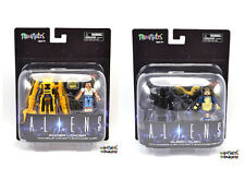 Aliens Minimates Deluxe Power Loader (Ripley) and Alien Queen (Bishop) Sets