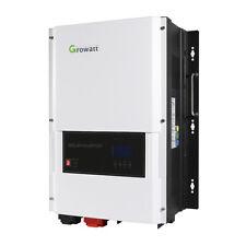 Growatt 48V 6kW Split Phase Solar Inverter Built-in 80A Mppt Solar Charge Fda