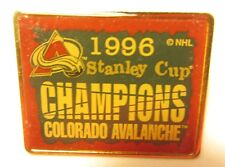 1996 STANLEY CUP CHAMPIONS COLORADO AVALANCHE HOCKEY PIN, #55987