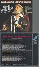 CD- Kenny Rogers ‎– Me And Bobby McGee 20 Greatest Hits