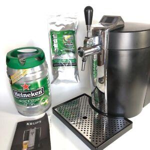 KRUPS Heineken Beer Tender Mini Beer Tap System Keg Cooling Kegerator VB502