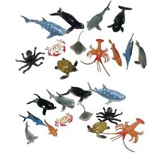 Assorted Sea Creature Toys Pack Of 24 4 Inch Ocean Animal Play Figures Set