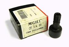 "NEW MCGILL CF-3/4-SB CAMROL CAMFOLLOWER 3/4"" OD 1/2"" WIDTH (5 AVAILABLE)"