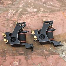 custom cast iron tattoo machine tattoo gun handmade for liner shader 2pcs