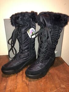New Spring Step Fotios All Weather Black Boots Size 40/9