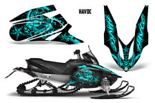 Yamaha APEX XTX Decal Wrap Graphic Kit Part Sled Snowmobile 2006-2011 HAVOC MINT