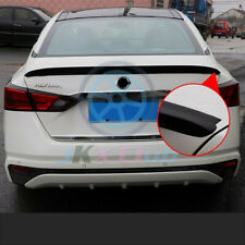 Gloss Black ABS Rear Tail Trunk Spoiler Wing Lip Trim For Nissan Altima 2019