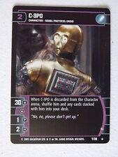 Star Wars TCG - ESB -  C-3PO (E) 7/210  NM/Mint