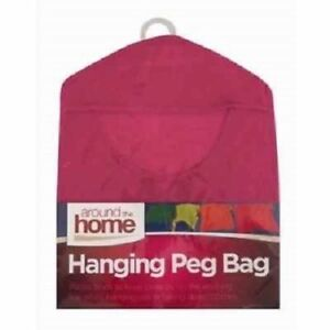 Hanging Peg Basket,HANGING STORAGE BAG BASKET CLOTHES LINE WASHING HANGING