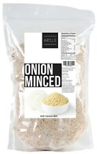 Hayllo Premium Quality Dehydrated Onion Minced in Resealable Bag, 1.5 Pound