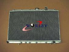 2 Row Aluminum Radiator Mitsubishi LANCER Evolution EVO 1 2 3 MT 1992-1995 93 94