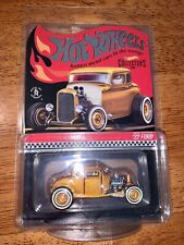 2021 HOT WHEELS Red Line Club Special Edition 32 Ford Deuce Coupe #00031/17500