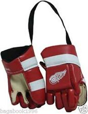NHL Detroit Red Wings  Mini Hockey Gloves For The Car NEW