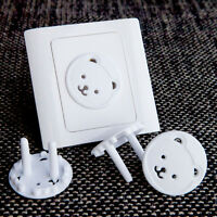10X Child Guard Against Electric Shock EU Safety Protector Socket Cover Cap YJ