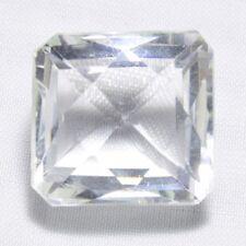 Echter Weisser Bergkristall Octagon 35.48ct 18x17mm