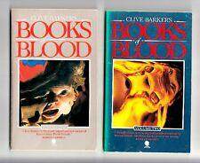 BOOKS OF BLOOD (Clive Barker/Vols. I -VI/1st British Sphere/PBO)