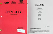 "Spin City February 28, 2002 ""A Friend In Need"" Episode Shooting Script Unsigned"