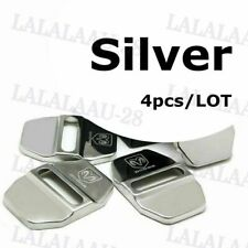 Stainless Steel Door Buckle Lock Striker Door Lock Protective Cover for DODGE X4