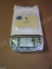 Pottery Barn Kids Baby Bed Nursery Crib Chase Bed skirt Dust Ruffle Stripe NEW