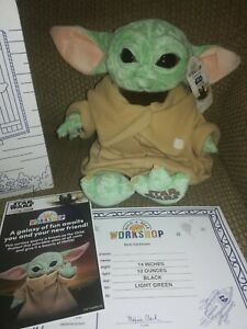 Build A Bear Star Wars The Mandalorian The Child Baby Yoda  sounds & theme song