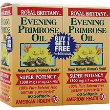 American Health Evening Primrose Oil (1300mg) Twin Pack 60+60 120 sgels