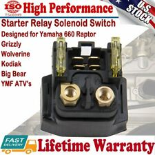 Starter Solenoid Relay For Yamaha Grizzly Raptor 660 YFM660 2002 2003 2004 2005