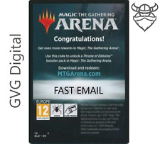 MTGA Throne of Eldraine Prerelease Magic Arena 6 Boosters FAST Code EMAIL 1/acct