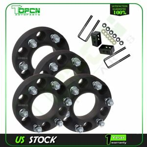"4Pc 1.25"" Thick 6x135 wheel spacers 3"" Rear Leveling Lift Kit Fits Ford F150"