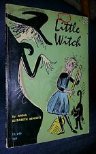 Little Witch Anna Bennett vintage Scholastic Paperback 1969, 10th Printing nice!