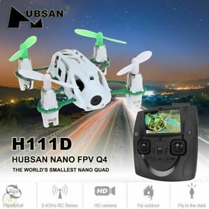 Hubsan H111D Nano Quadcopter with 5.8GHz FPV LCD Transmitter and Headless Mode
