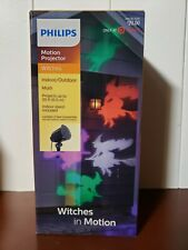 Philips Halloween Motion Projector with LED Bulbs Witches in Motion Multi Color