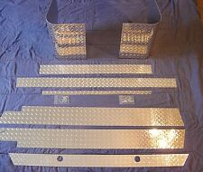 JEEP CJ7 WRANGLER FULL DIAMOND PLATE KIT FREE SHIPPING GREAT DEAL ONLY $195.99