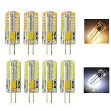 1/4/6/10x G4 Bi-Pin Base LED Light Bulb 3W SMD Capsule Corn Lamp AC/DC12V AC110V