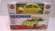 BURAGO 1:43 KIT METALLO VOLKSWAGEN NEW BEETLE CUP 49501