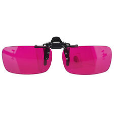 Flippable Clip On Colorblindness Corrective Glasses for Red Green Color Blind
