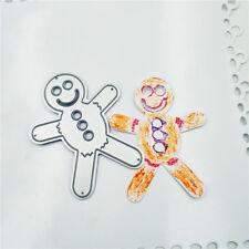 Gingerbread man Metal Cutting Dies Stencils for DIY Scrapbooking Album Cards KK