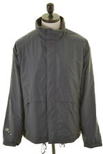 WOOLRICH Mens Waterproof Jacket Size 46 XL Grey Nylon