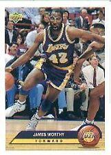 1992 Upper Deck James Worthy #P21 Basketball Card