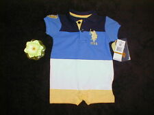 NWT US POLO ASSOCIATION Onepiece Romper  0-3m.  ~MUST SEE!~