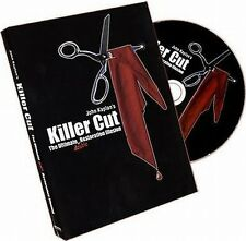 KILLER CUT by JOHN KAPLAN - CUT AND RESTORED SILK MAGIC TRICK DVD Free Shipping!