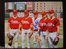 Philadelphia Phillies 1993 ALL-STAR Kruk Hollins Fregosi Signed Photo Autograph